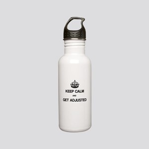 Keep Calm Chiro Stainless Steel Water Bottle