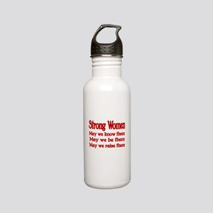 STRONG WOMEN Stainless Steel Water Bottle