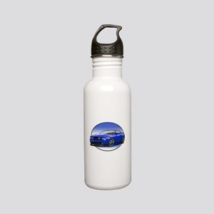 GT Stang Blue Stainless Steel Water Bottle