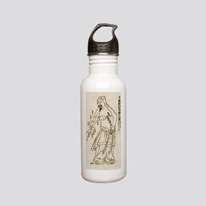 Acupuncture Acupunctur Stainless Water Bottle 0.6L