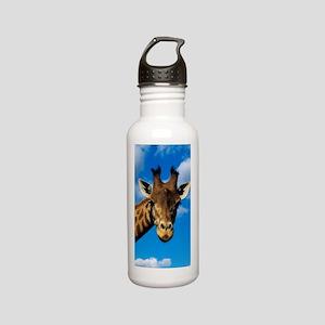 Giraffe Stainless Water Bottle 0.6L