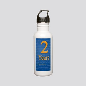 2 Years Recovery Sloga Stainless Water Bottle 0.6L