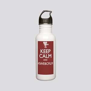 Kep Calm and Save BC F Stainless Water Bottle 0.6L
