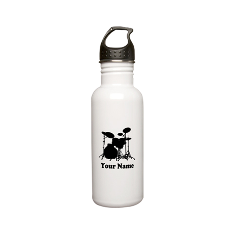 Personalized Drums Stainless Water Bottle 0.6L