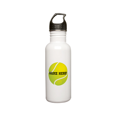 Personalized Tennis Ball Stainless Steel Water Bot