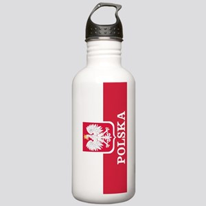 Personalized Polska Flag Polish Water Bottle