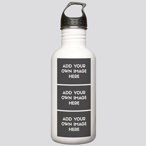 Add Your Own Image Collage Water Bottle