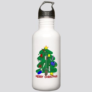 Merry Christmas Medica Stainless Water Bottle 1.0L