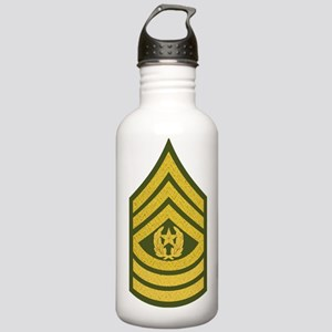 Army-CSM-Gold-Green-Fa Stainless Water Bottle 1.0L