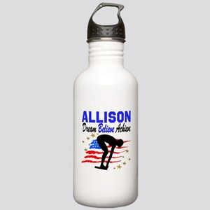 PERSONALIZE SWIMMER Stainless Water Bottle 1.0L