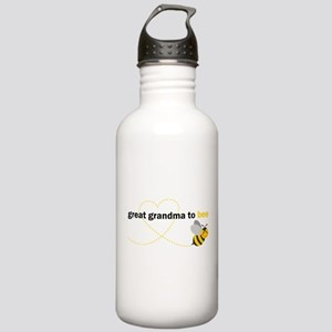 Great Grandma To Bee Water Bottle