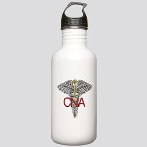 CNA Medical Symbol Stainless Water Bottle 1.0L