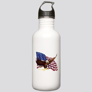 American Patriotism Water Bottle