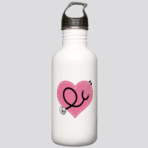 Doctor Nurse Heart Stainless Water Bottle 1.0L