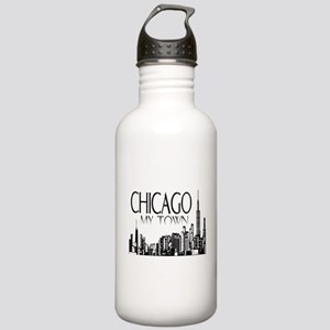 Chicago My Town Stainless Water Bottle 1.0L