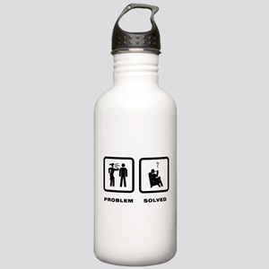 Pipe Smoking Stainless Water Bottle 1.0L