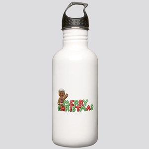 CHRISTMAS COOKIES Stainless Water Bottle 1.0L
