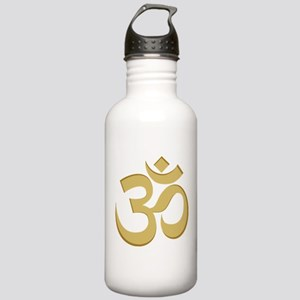 Om, Gold Stainless Water Bottle 1.0L