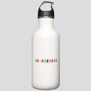 Ten Color Squatches Stainless Water Bottle 1.0L