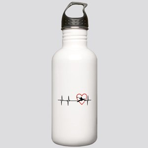 i love kayak Stainless Water Bottle 1.0L