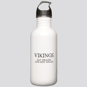 Vikings Eat Pirates Stainless Water Bottle 1.0L