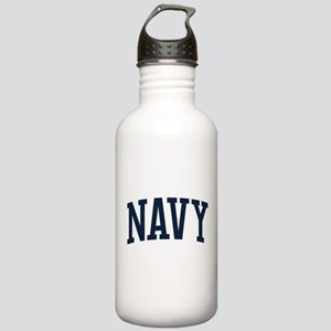 Navy Stainless Water Bottle 1.0L