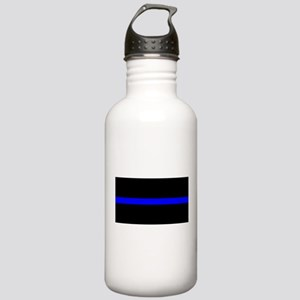 Thin Blue Line - USA U Stainless Water Bottle 1.0L