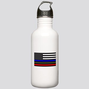 Thin Blue Line - USA F Stainless Water Bottle 1.0L