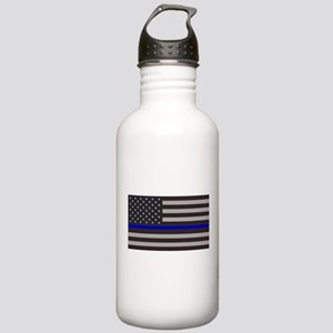Blue Lives Matter Stainless Water Bottle 1.0L