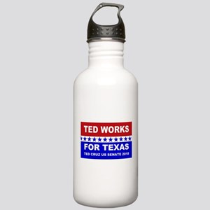 Ted works for Texas Stainless Water Bottle 1.0L