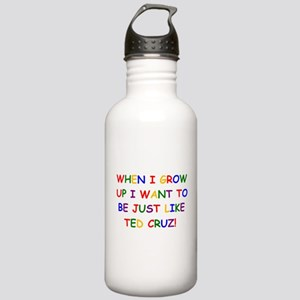 Ted Cruz when i grow up Water Bottle