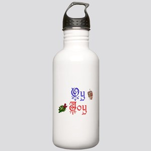 Oy Joy Chrismukkah Stainless Water Bottle 1.0L