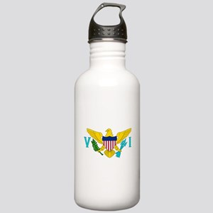 United States Virgin Islands Sports Water Bottle