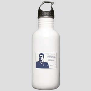 Reagan / Taxes Stainless Water Bottle 1.0L
