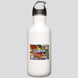 All Love is Free Graff Stainless Water Bottle 1.0L