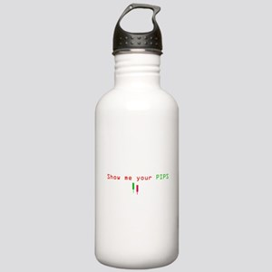 Funny PIPS ForEX CENTE Stainless Water Bottle 1.0L