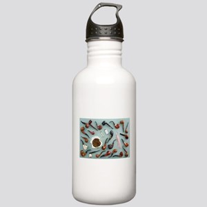Collection of pipes Stainless Water Bottle 1.0L