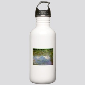Water Lillies (The Clouds) Stainless Water Bottle