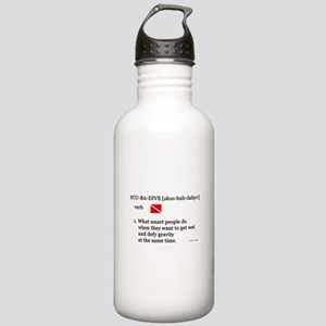Scuba-Dive Definition Stainless Water Bottle 1.0L