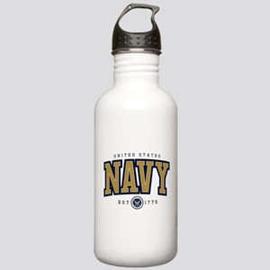 United States Navy Ath Stainless Water Bottle 1.0L