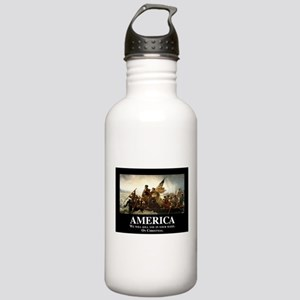 America: We will kill Stainless Water Bottle 1.0L