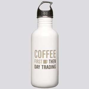 Coffee Then Day Tradin Stainless Water Bottle 1.0L