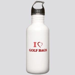 I love Golf Bags Stainless Water Bottle 1.0L