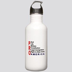 Pro America Stainless Water Bottle 1.0L