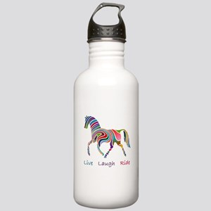 Rainbow horse gift Stainless Water Bottle 1.0L