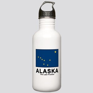 Alaska Flag Stainless Water Bottle 1.0L