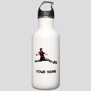 Soccer Player Water Bottle