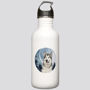 Winter Moon Husky Water Bottle