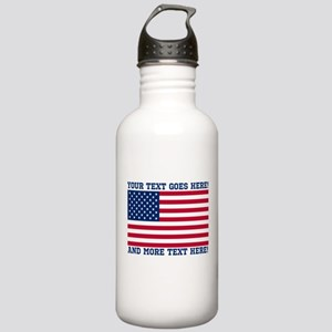Personalized Patriotic American Flag Classic Water