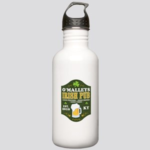 Irish Pub Personalized Stainless Water Bottle 1.0L
